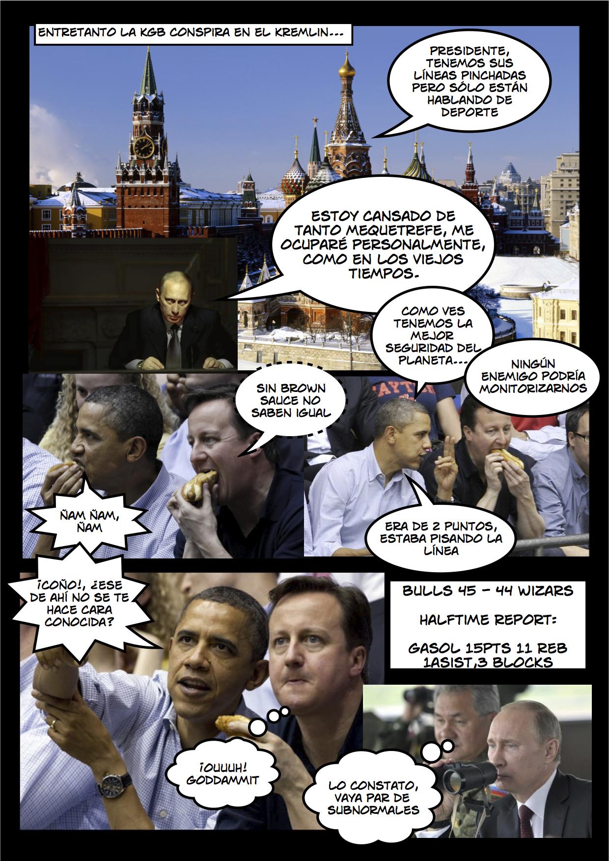 La historia de Espionaje jamás contada 2 de 2